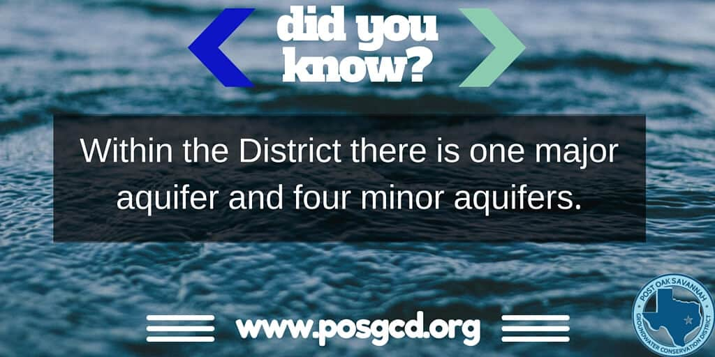 Did You Know?: Aquifers In The District