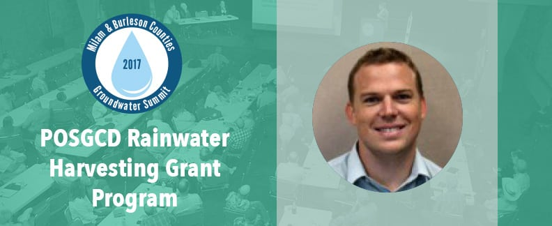 POSGCD Rainwater Harvesting Grant Program