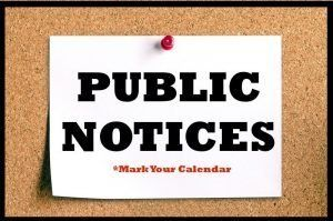 Public Notices photo