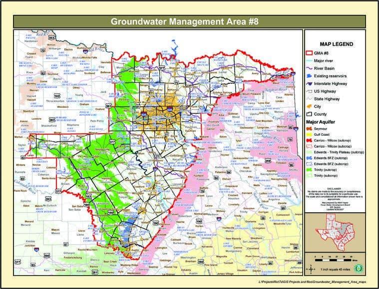 GMA 8 Map